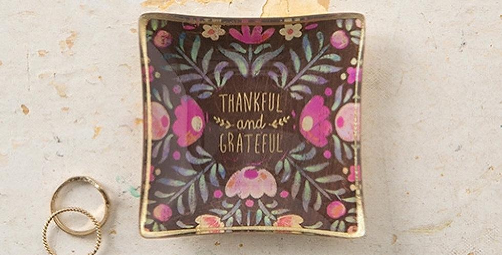 Noi - Glasschale Mini Thankful