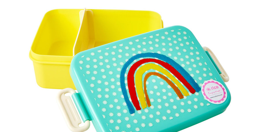 "RICE Brotdose Lunchbox ""Regenbogen"""