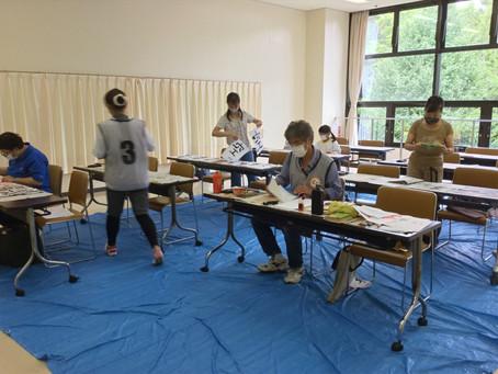 MIRAIフェス -書道体験会- が開催されました(2020/09/30掲載)