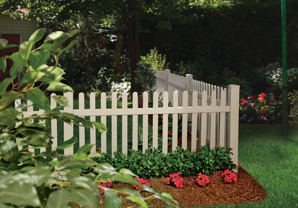 Here are some great ideas for enhancing your gardens with a DIY fence.