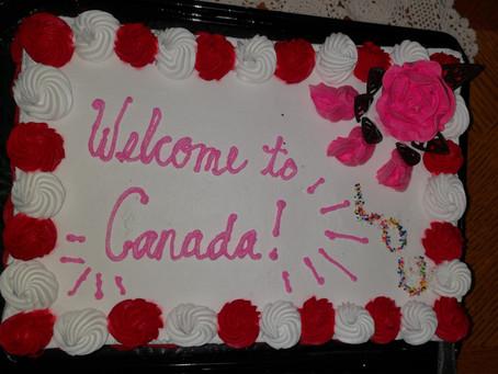 Hello Canada!