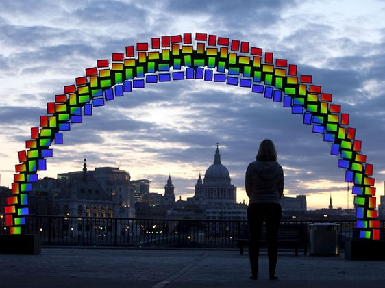 Samsung Midnight Rainbow St.Paul's Cathedral