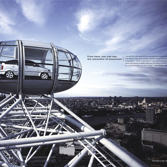 Audi in The London Eye