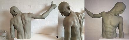 Rick Owens sculpture Selfridges maquette sculpt