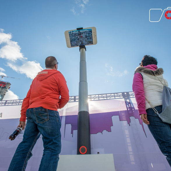 Finastra World's Largest Selfie Stick