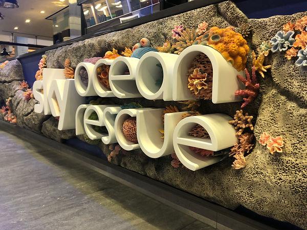 Sky Ocean Rescue 3D printed coral reef