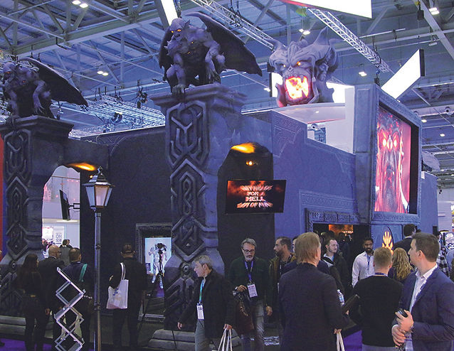 Yggdrasil ICE Gaming exhibition stand