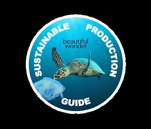 Beautiful Wonder Uk  Jez Clarke  Sustainable Production Guide logo