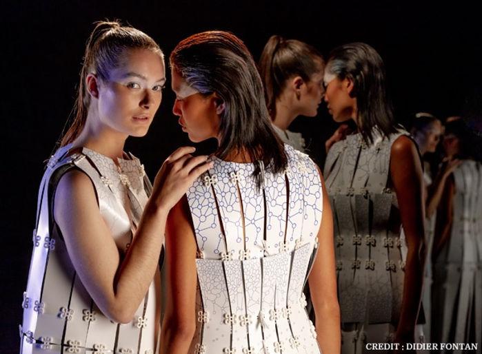Samsung aurelie fontan Mobile Couture collection