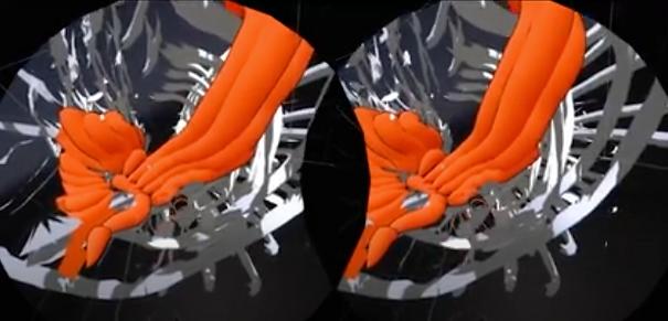 HTC Vive virtual reality sculpting