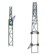 Rick Owens sculpture Selfridges steel frame design