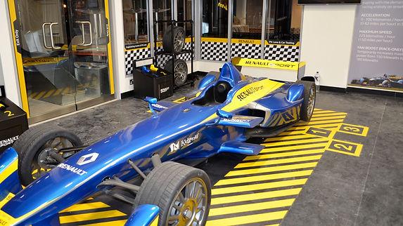 Renault Formula E replica kidzania