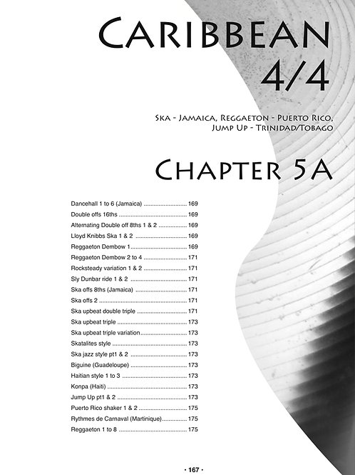 Chapter 5A and 5B Caribbean 4/4 & 12/8. 54 MP3s.