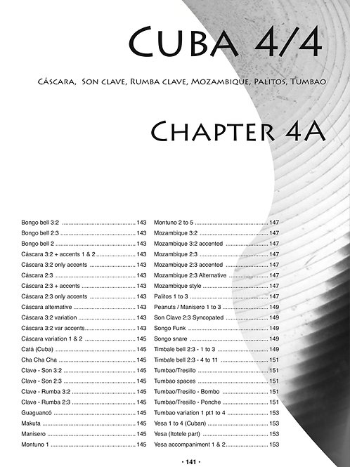 Chapter 4A Cuba 4/4. 90 MP3 files