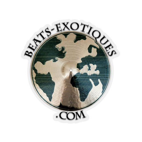 Beats Exotiques Logo Stickers (available in USA only)