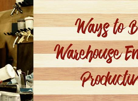 Ways to Boost Warehouse Employee Productivity