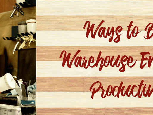 Ways to Boost Warehouse Employee Productivity