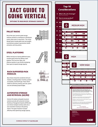 Xact Guide to Going Vertical - home page