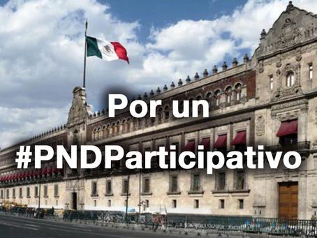 Catorce criterios para la formulación de #PNDParticipativo