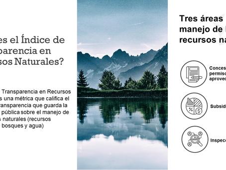 Índice de Transparencia en Recursos Naturales: El derecho a saber
