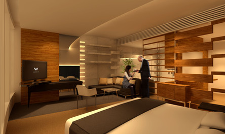 Hotel W Guestroom Project