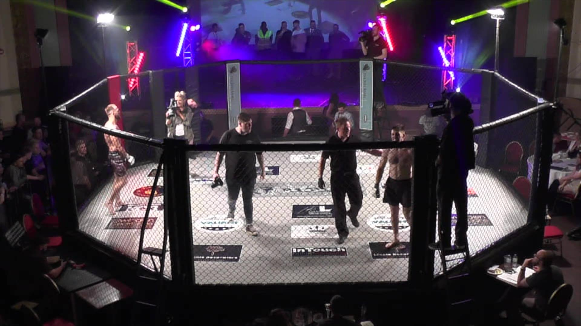 Raged UK MMA Adam Webb Vs Olsen Wakefield