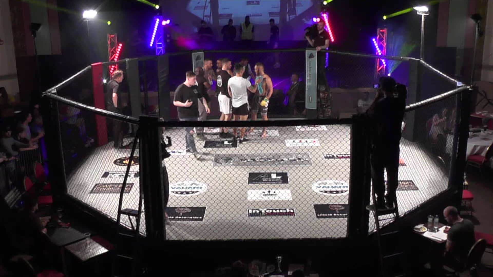 Raged UK MMA Lawrence Jordan Tracey Vs Dan Taylor