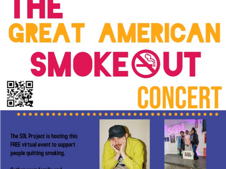 EVENT: Great American Smoke Out Concert