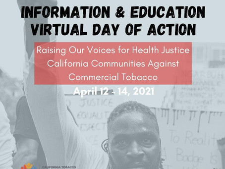 It's About Health Justice! Information & Education Virtual Day of Action 2021