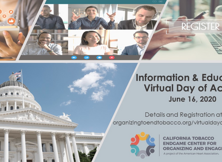 VIRTUAL EVENT: Information & Education (I&E) Day