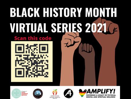 MYNT hosts virtual Black History Month Series