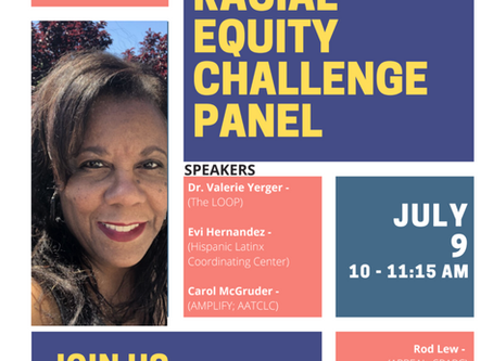 VIRTUAL EVENT: The Loop's 21 Day Racial Equity Challenge Panel
