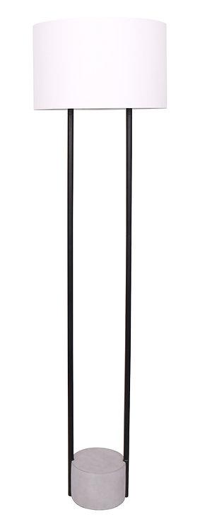 Austin Floor Lamp - Concrete