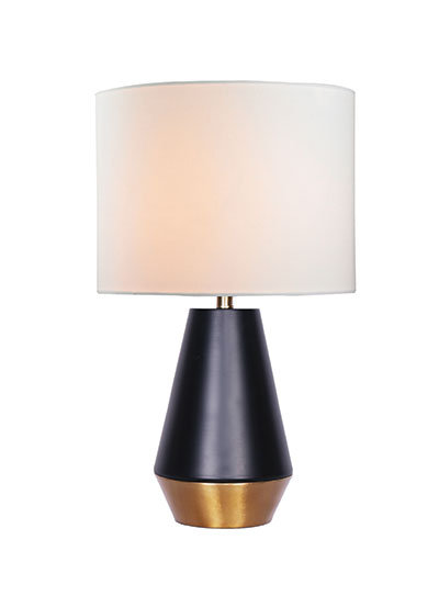 Liam Small Table Lamp - Gold