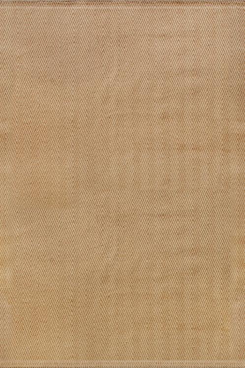 Jute Beige Herringbone 5x8 Rug