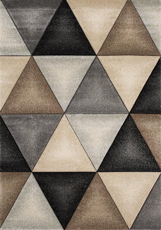 Gianni Triangles 5x8 Rug