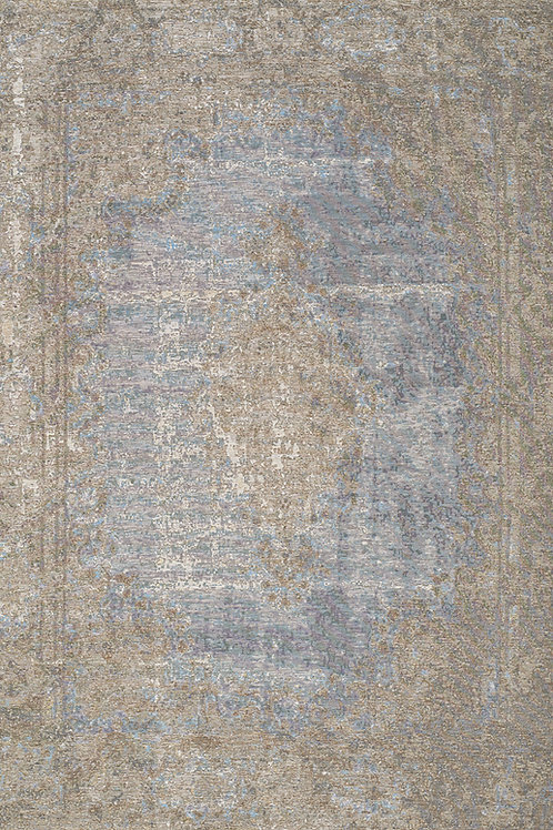 Carment Blue Traditional 8x11 Rug