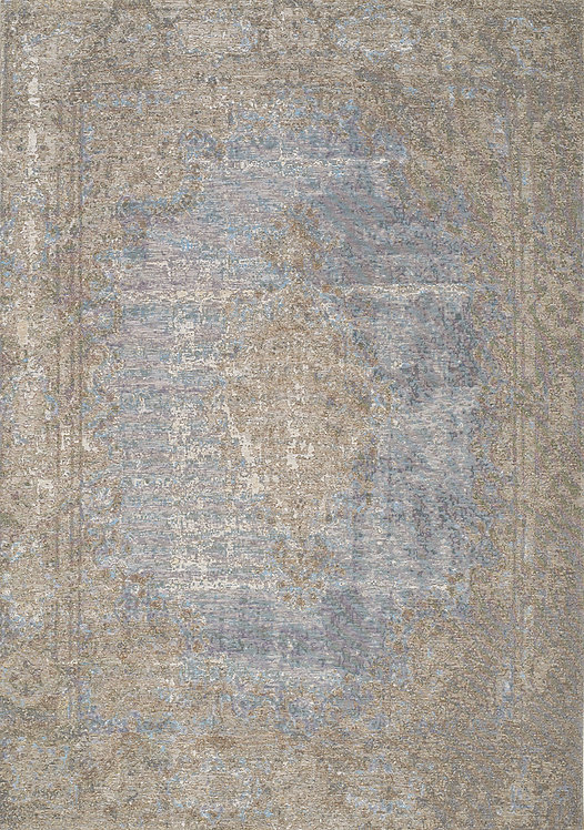 Carment Blue Traditional 5x8 Rug