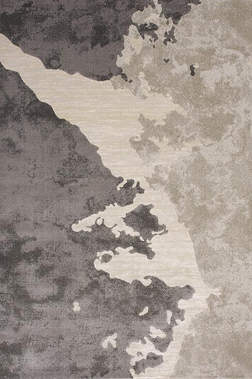 Alba Grey Distressed 5x8 Rug