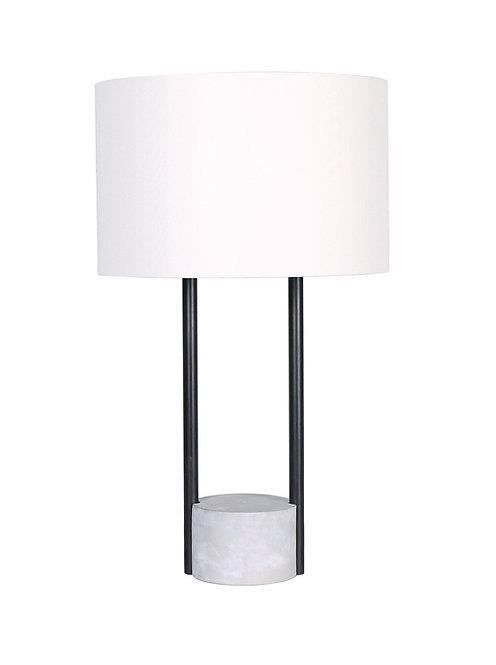 Austin Table Lamp - Concrete