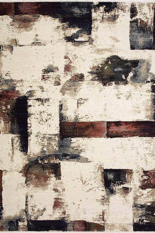 Terali Distressed Blocks 5x8 Rug