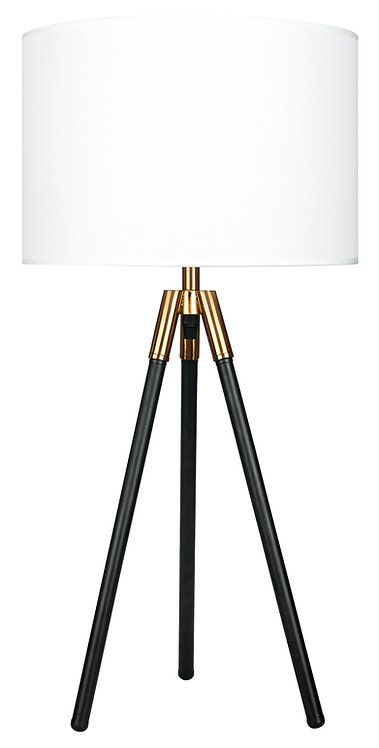 Tripod Table Lamp - Industrial Gold