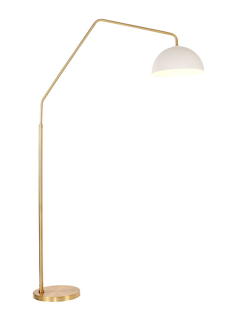 Emerson Arc Lamp - Brushed Gold
