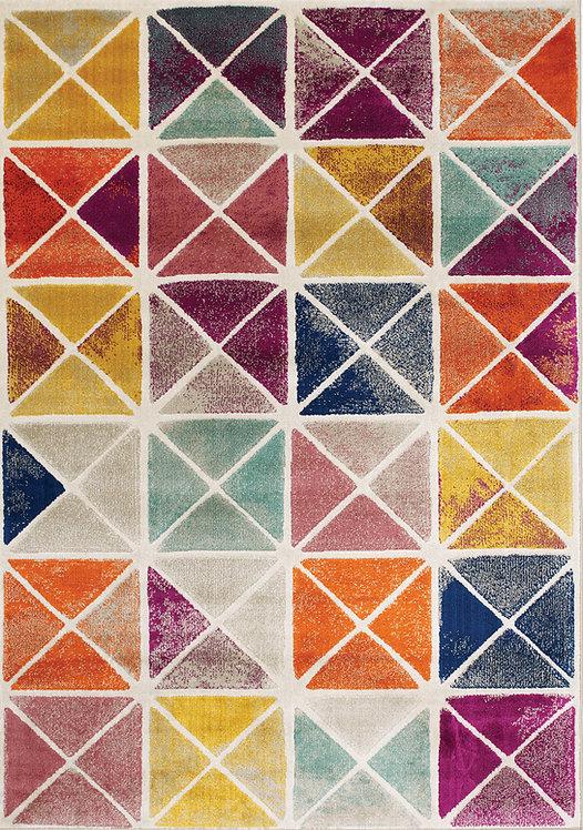 Brickston Multicolour Geometric 5x8 Rug