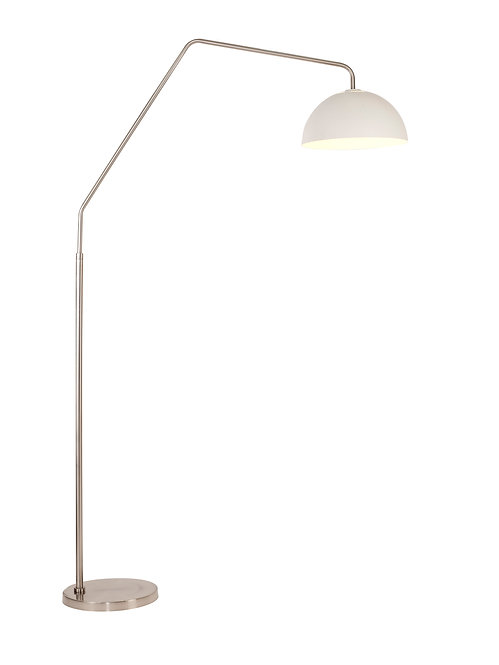 Emerson Arc Lamp - Brushed Steel