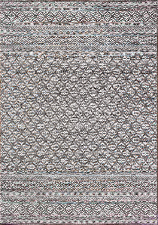 Iris Trellis Banding 5x8 Rug