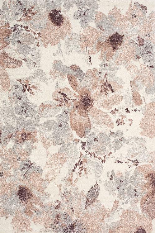 Saro Pink Floral 5x8 Rug