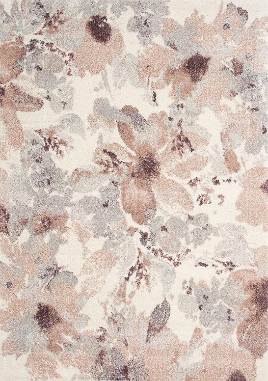 Saro Pink Floral 8x11 Rug