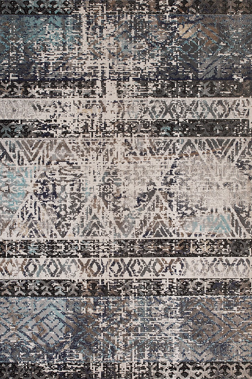 Sutton Tribal Distressed 8x11 Rug