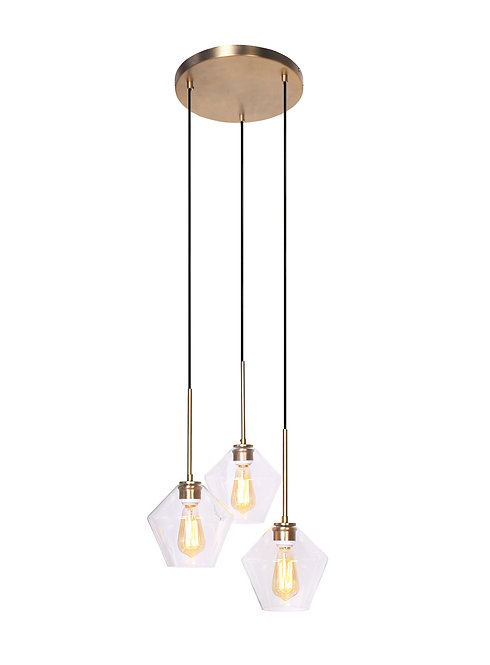 Mia Ceiling Lamp - Brushed Gold